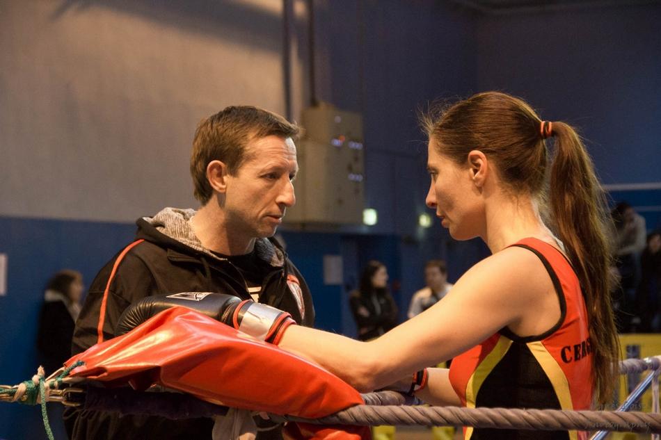 Christophe Franck ici avec Christelle Micallef : un entraineur doit posséder un bon instinct mais pas que...